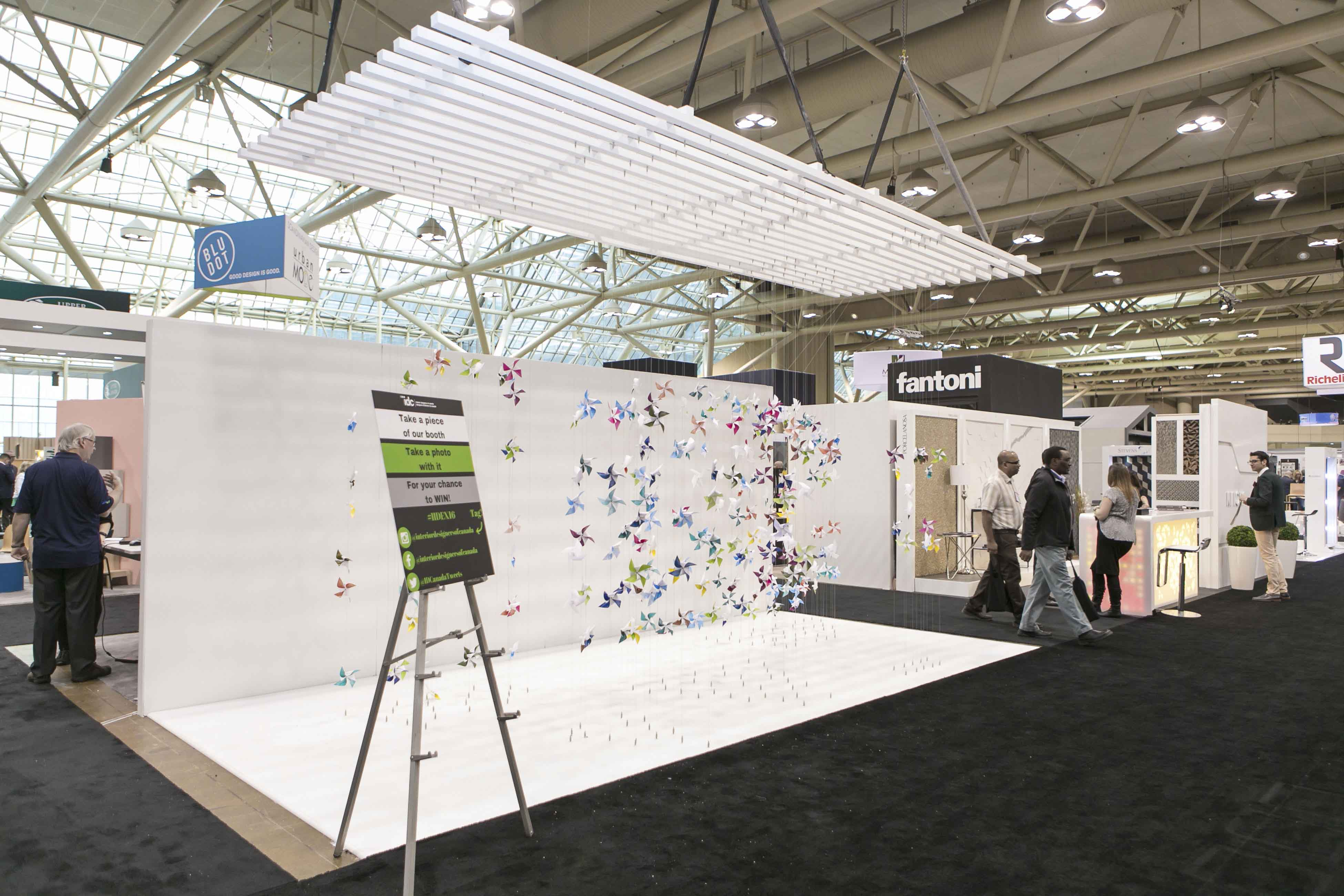Interior Designers Of Canada Booth At Iidex 2016 Sliver Award Ateliersun