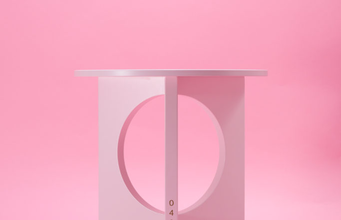 Moon Side Table